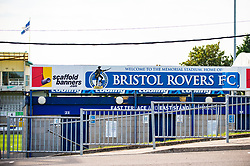 A general view of the outside of Memorial Stadium - Mandatory by-line: Dougie Allward/JMP - 19/09/2020 - FOOTBALL - Memorial Stadium - Bristol, England - Bristol Rovers v Ipswich Town - Sky Bet League One
