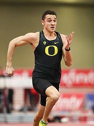 Don Kirby Invitational Indoor Track & Field<br /> Albuquerque, NM, Feb 14, 2020<br /> mens 60m heats, Oregon