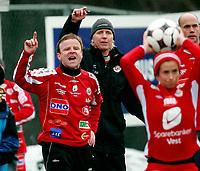 Fotball<br /> Toppserien<br /> Føyka Stadion 12.04.08<br /> Asker - Arna-Bjørnar<br /> Morten Kalvenes , Reidun Seth<br /> <br /> Foto: Eirik Førde