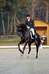 Devroe Jeroen (BEL) - Apollo vh Vijverhof<br /> BK Herentals 2008<br /> Photo© Dirk Caremans