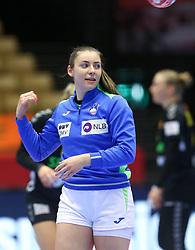 Nina Zulic during the EHF Euro 2020 Group A match between Montenegro and Slovenia in Jyske Bank Boxen, Herning, Denmark on December 8, 2020. Photo Credit: Allan Jensen/EVENTMEDIA.