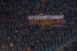 February 3, 2019 - Rome, Italy - As roma supporters during the Italian Serie A football match between A.S. Roma and A.C. Milan at the Olympic Stadium in Rome, on february 03, 2019. (Credit Image: © Silvia Lore/NurPhoto via ZUMA Press)