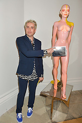 NICK GRIMSHAW at the Royal Academy of Arts Summer Exhibition Preview Party at The Royal Academy of Arts, Burlington House, Piccadilly, London on 7th June 2016.