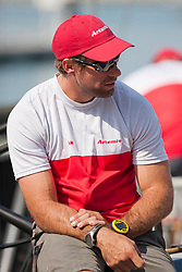 Iain Percy. Artemis Racing (SWE) versus BMW Oracle Racing (USA), RR1. BMW Oracle Racing wins both matches. Dubai, United Arab Emirates, November 15th 2010. Louis Vuitton Trophy  Dubai (12 - 27 November 2010) © Sander van der Borch / Artemis Racing