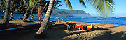 Hanalei Bay, Hanalei, Kauai, Hawaii, USA<br />
