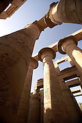 Great Hypostyle Hall, Temple of Amun at Karnak  Luxor, Egypt