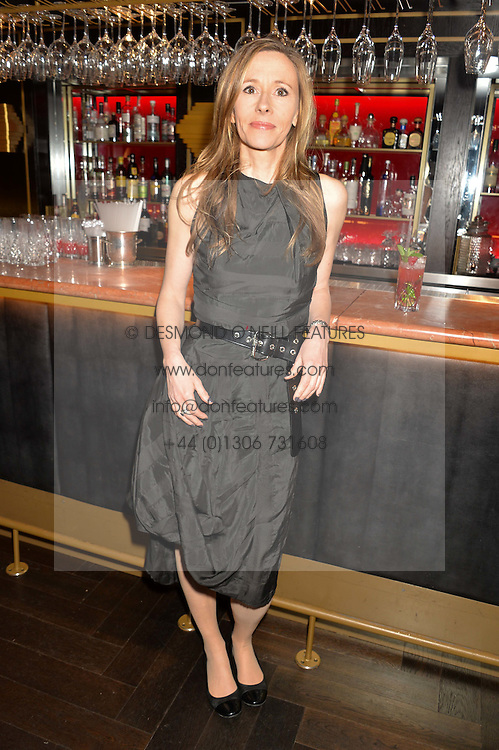 ANDREA WULF at the Costa Book of The Year Awards held at Quaglino's, 16 Bury Street, London on 26th January 2016.