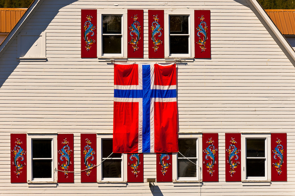 Sons of Norway Hall, Petersburg, Southeast Alaska USA
