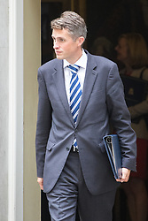 Downing Street, London, September 9th 2016.  Chief Whip (Parliamentary Secretary to the Treasury) Gavin Williamson leaves 10 Downing Street following the weekly cabinet meeting.