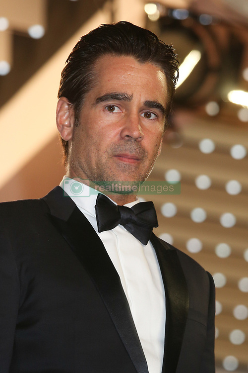May 23, 2017 - Cannes, France - COLIN FARRELL - RED CARPET OF THE FILM 'THE KILLING OF A SACRED DEER' AT THE 70TH FESTIVAL OF CANNES 2017 . CANNES, FRANCE, 22/05/2017. # 70EME FESTIVAL DE CANNES - RED CARPET 'MISE A MORT DU CERF SACRE' (Credit Image: © Visual via ZUMA Press)
