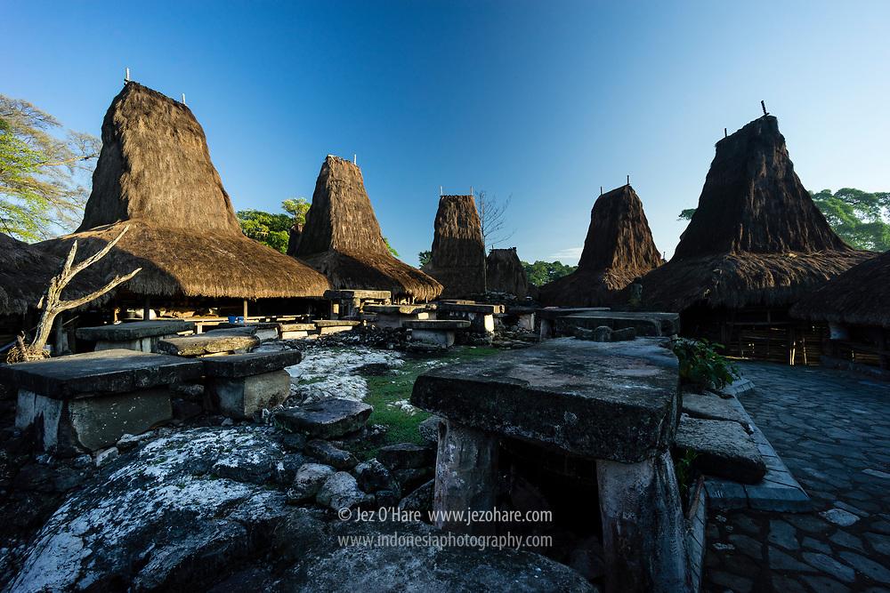 Kampung Adat Tarung, Waikabubak, Sumba Barat, Nusa Tenggara Timur, Indonesia