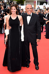 Alberto Barbera con la moglie attending the opening ceremony and premiere of The Dead Don't Die, during the 72nd Cannes Film Festival.