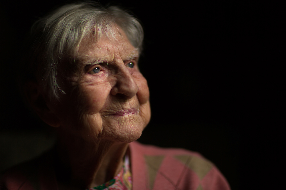 Eunice Kannett, who just celebrated her 100th birthday, is a World War II veteran who served as a U.S. Army nurse during the war in North Africa and Italy.