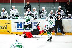 MAGOVAC Aleksandar  during Alps League Ice Hockey match between HDD SIJ Jesenice and HK SZ Olimpija on January 2, 2021 in Ice Arena Podmezakla, Jesenice, Slovenia. Photo by Peter Podobnik / Sportida