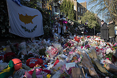 London - George Michael Fans Leave tributes Outside His Home - 02 Jan 2016