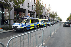 October 31, 2016 - Malm√, Sweden - Swedish police high security for Pope Francis visit...Commemorations for the 500th anniversary of the Reformation, Malm√∂, Sweden (Credit Image: © Aftonbladet/IBL via ZUMA Wire)