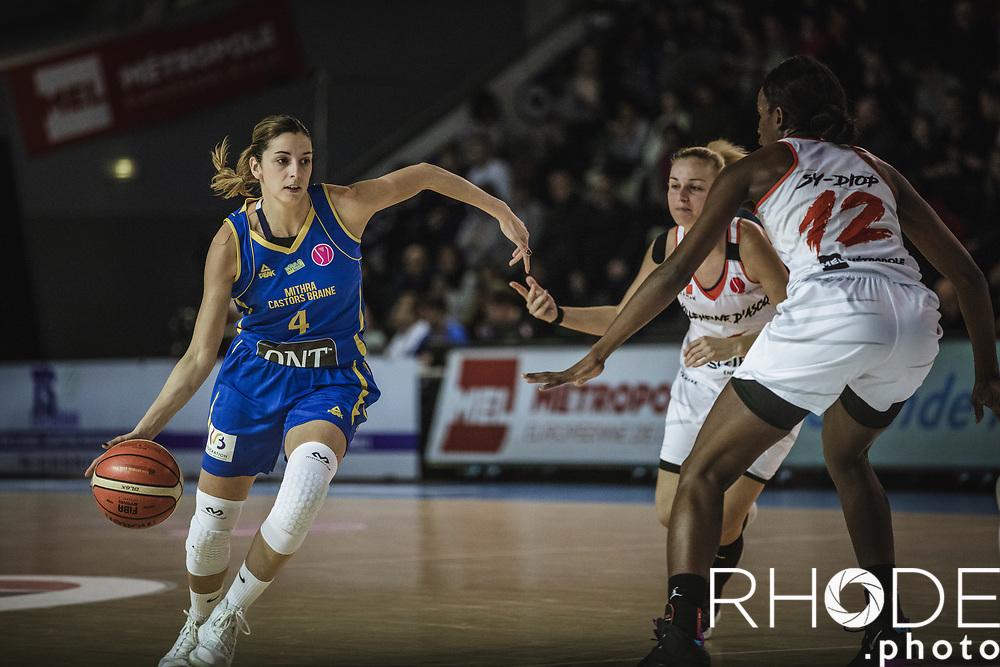 Mariana Ortiz (ESP/Castors Braine)<br /> <br /> <br /> FIBA Euroleague Women <br /> ESBVA_LM (FRA) – Castors Braine (BEL): 73-61 <br /> Wednesday January 16, 2019