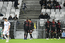 October 28, 2018 - Bordeaux, France - EQUIPE DE FOOTBALL DE NICE - JOIE (Credit Image: © Panoramic via ZUMA Press)