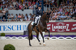 Schneider Dorothee, (GER), Showtime<br /> Grand Prix Kür - Deutsche Bank Preis<br /> CHIO Aachen 2016<br /> © Hippo Foto - Dirk Caremans<br /> 17/07/16