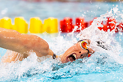 05-04-2019 NED: Swim Cup, Den Haag<br /> Femke Heemskerk wins the 200 meter freestyle during the Swim Cup