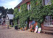 AMHJD8 Gift shop Walberswick Suffolk England