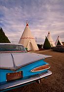 Wigwam Hotel, Route 66, Holbrook, Arizona, teepee