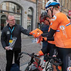 31-03-2019: Wielrennen: Kattekoers: Ieper<br /> Daan van Sinmaartensdijk, Jarno Mobach