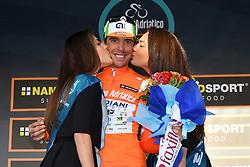 March 15, 2019 - Foligno, Perugia, Italia - Foto Gian Mattia D'Alberto / LaPresse.15/03/2019 Foligno (Italia) .Sport Ciclismo.Tirreno-Adriatico 2019 - edizione 54 - da Pomarance a Foligno  (226 km) .Nella foto:  Mirco Maestri  ITA, maglia arancione..Photo Gian Mattia D'Alberto / LaPresse .March 15, 2018 Foligno (Italy).Sport Cycling.Tirreno-Adriatico 2019 - edition 54 - Pomarance to Foligno (140 miglia) .In the pic:  Mirco Maestri ITA, orange jersey (Credit Image: © Gian Mattia D'Alberto/Lapresse via ZUMA Press)