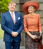Dublin12-06-2019<br /> <br /> <br /> <br /> State Visit of King Willem-Alexander and Queen Maxima to Ireland.<br /> <br /> Visit the Trinity College<br /> <br /> Foto: ROYALPORTRAITS EUROPE BERNARD RUEBSAMEN