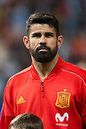 Diego Costa of Spain during the International friendly game football match between Spain and Argentina on march 27, 2018 at Wanda Metropolitano Stadium in Madrid, Spain - Photo Rudy / Spain ProSportsImages / DPPI / ProSportsImages / DPPI