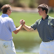 American Junior Golf Association players Oliver Schniederjans and Jordan Spieth at the Thunderbird International Junior tournament.
