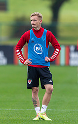CARDIFF, WALES - Monday, October 5, 2020: Wales' Matthew Smith during a training session at the Vale Resort ahead of the International Friendly match against England. (Pic by David Rawcliffe/Propaganda)