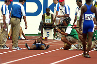 Athletics, 24. august 2003, VM Paris, World Championship in Athletics,  Jon Drummond, USA