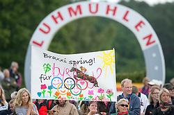 Klimke Ingrid (GER) - FRH Butts Abraxxas <br /> Bye bye Braxxi - The retirement on FRH Butts Abraxxus<br /> CCI3*  Luhmuhlen 2014 <br /> © Hippo Foto - Jon Stroud