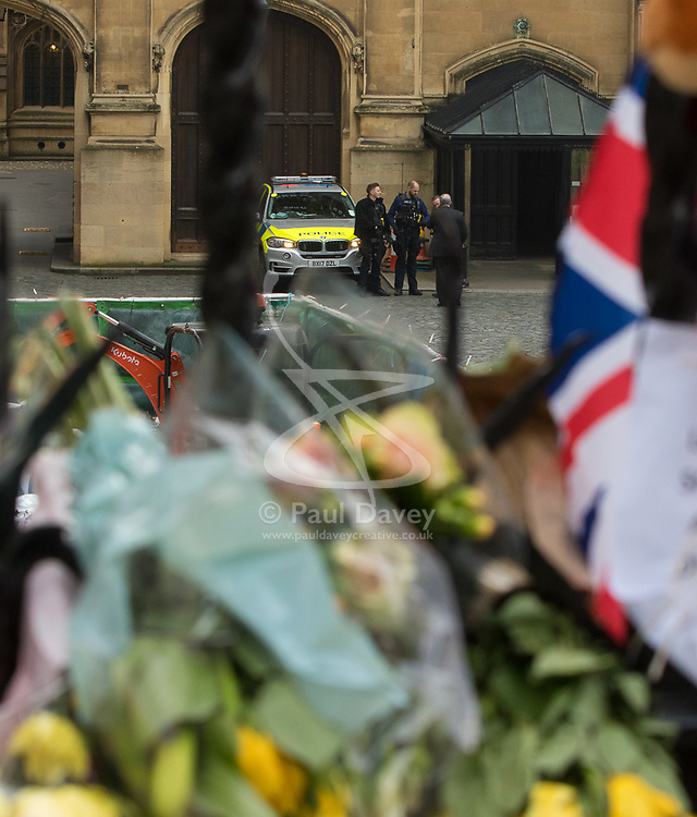 Westminster, London, March 27th 2017. Armed police within the Palace of Westminster. Credit: ©Paul Davey<br /> <br /> ©Paul Davey<br /> FOR LICENCING CONTACT: Paul Davey +44 (0) 7966 016 296 paul@pauldaveycreative.co.uk