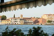Giudecca Island seen from Fondameta Zattere Allo Spirito Santo. Venice, Italy, Europe
