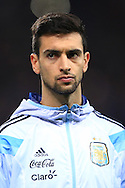 Javier Pastore of Argentina - Argentina vs. Portugal - International Friendly - Old Trafford - Manchester - 18/11/2014 Pic Philip Oldham/Sportimage