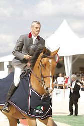 Hendrickx Dominique - AN Sidec<br /> CSI Antwerpen 2008<br /> Photo © Hippo Foto