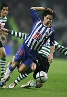 PORTO 08 NOVEMBER  2004: DIEGO #16 gets ready to score the second goal from FC Porto in the 9¼ leg of the Super Liga, season 2004/2005, match FC Porto v  Sporting CP, held in Drag‹o stadium,  08/11/2004  20:30<br />(PHOTO BY: NUNO ALEGRIA / AFCD)