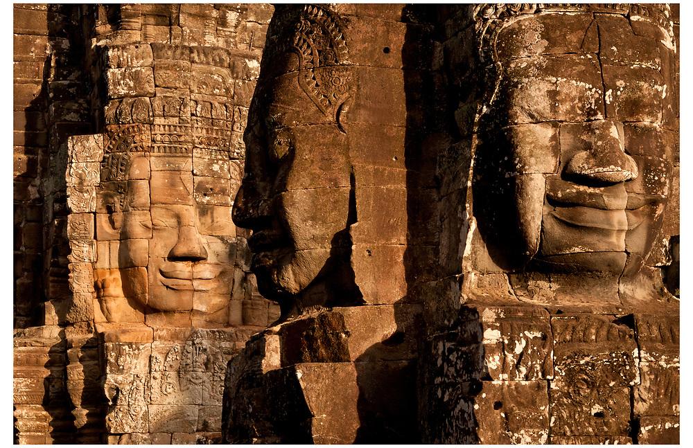 Bayon, Angkor Thom, Siem Reap, Cambodia.