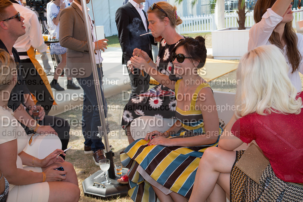 DAISY LOWE, Veuve Clicquot Gold Cup, Cowdray Park, Midhurst. 21 July 2013