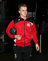 Joe Bryan of Bristol City arrives at Highbury Stadium - Mandatory by-line: Matt McNulty/JMP - 17/01/2017 - FOOTBALL - Highbury Stadium - Fleetwood,  - Fleetwood Town v Bristol City - Emirates FA Cup Third Round Replay