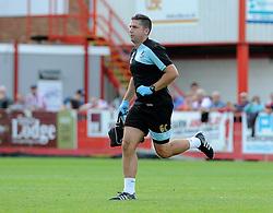 Gavin Crowe - Mandatory by-line: Neil Brookman/JMP - 25/07/2015 - SPORT - FOOTBALL - Cheltenham Town,England - Whaddon Road - Cheltenham Town v Bristol Rovers - Pre-Season Friendly
