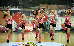TSV Rudow Dance Delight, Germany at European Cheerleading Championship 2008, on July 5, 2008, in Arena Tivoli, Ljubljana, Slovenia. (Photo by Vid Ponikvar / Sportal Images).