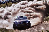 Rally<br /> WRC 2015<br /> Rally Polen<br /> 05.07.2015<br /> Foto: Panoramic/Digitalsport<br /> NORWAY ONLY<br /> <br /> Ola Fløene (N), Andreas Mikkelsen (NOR)