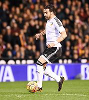 Valencia's  Alvaro Negredo  during La Liga match. January 3, 2016. (ALTERPHOTOS/Javier Comos)