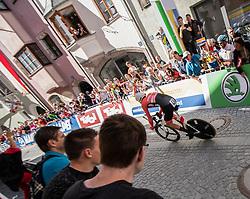 26.09.2018, Innsbruck, AUT, UCI Straßenrad WM 2018, Einzelzeitfahren, Elite, Herren, von Rattenberg nach Innsbruck (54,2 km), im Bild Georg Preidler (AUT) // Georg Preidler of Austria during the men's individual time trial from Rattenberg to Innsbruck (54,2 km) of the UCI Road World Championships 2018. Innsbruck, Austria on 2018/09/26. EXPA Pictures © 2018, PhotoCredit: EXPA/ Reinhard Eisenbauer