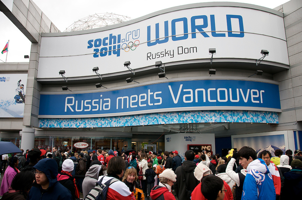 Scenes from Day 16 of the Vancouver 2010 Winter Olympics