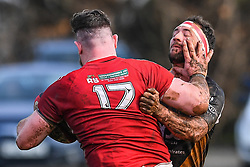 Photographer Craig Thomas/Replay Images<br /> <br /> WRU Bowl Quarter Final - Pembroke RFC v Deri RFC - Saturday 10th March 2018 - Crickmarren Field - Pembroke<br /> <br /> World Copyright © Replay Images . All rights reserved. info@replayimages.co.uk - http://replayimages.co.uk