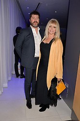 Jo Wood and Paul Scarborough at the Giselle Premier VIP Party, St.Martin's Lane Hotel, London England. 11 January 2017.